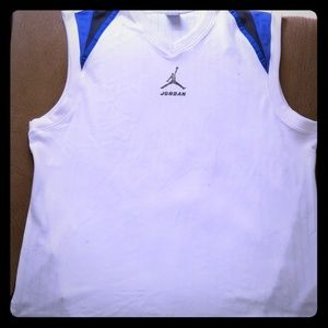 Rare Vintage Jordan 17 Sleeveless Basketball shirt
